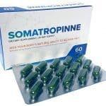 Somatropinne box and gel caps blister pack.