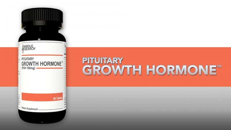 Pituitary Growth Hormone by Anabolic Research 1