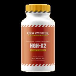 HGH-X2 bottle label