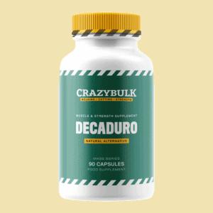 Decaduro bottle front label