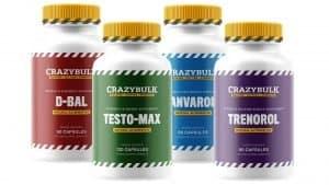 CrazyBulk Strength Stack Bottles