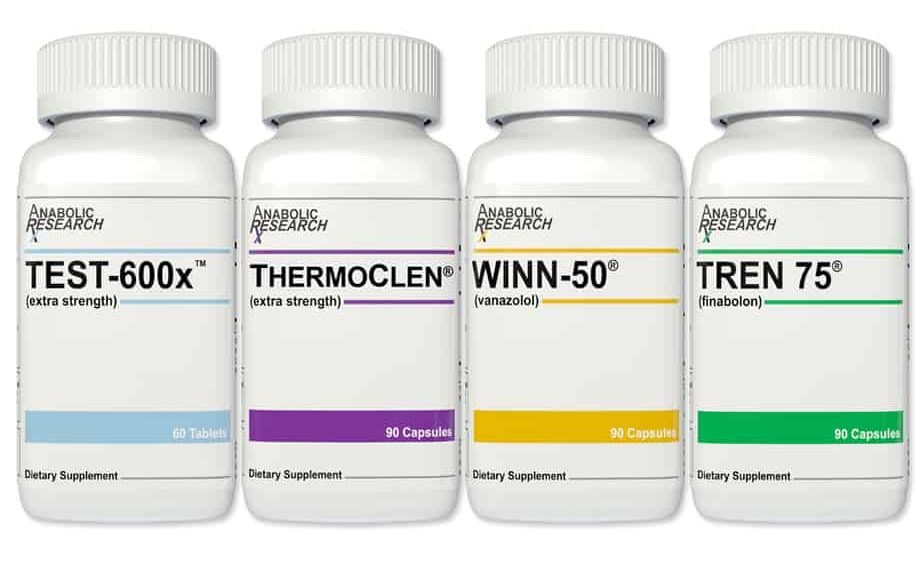 Anabolic Research Cutting Stack Product Photo