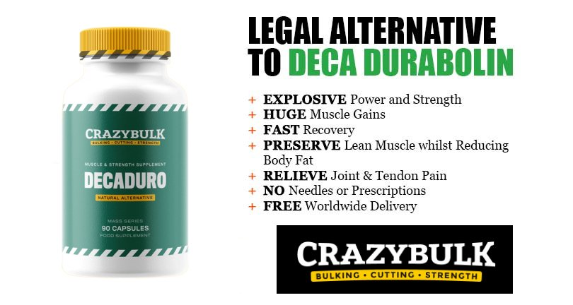 DecaDuro - INSANE CrazyBulk Legal Strength Steroid