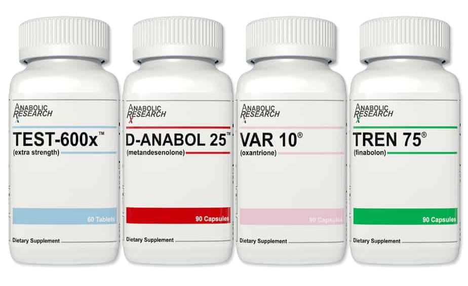 Anabolic Research Strength Stack
